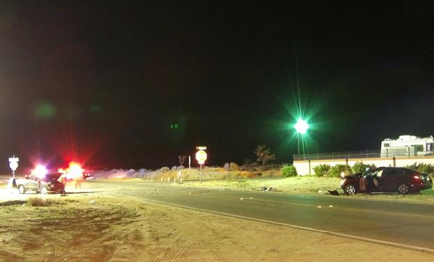 The fatal collision happened Saturday, April 16, on Avenue H at Challenger Way, sheriff's officials said. [Photo by LUIS MEZA]