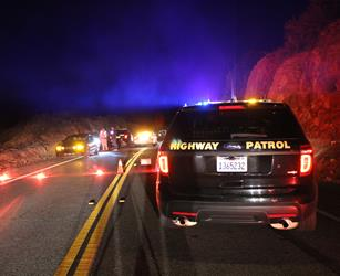 The fatal collision happened around 5:45 p.m. Saturday, May 7, on Soledad Canyon Road west of Aliso Canyon Road. [LUIS MEZA]