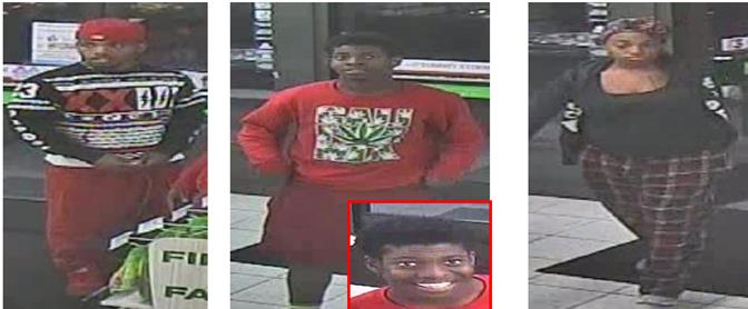 Attempt to ID 3 theft suspects Lancaster Most Wanted 5.19.16