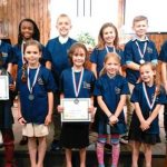 MEMORY MASTERS [Top row:] Kate Priest, Kyra Brown, Caden Sepp, Emily Paquette, Jedidiah Eberhard, Seth Albert. [Bottom row:] Judah Brown , Ansley Priest, Lindsey Paquette, Eva Sepp, Makaela Fogde. (contributed photo)