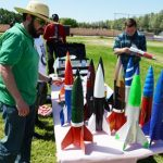 Two dozen Class A amateur rockets were launched. (Kenji Thuloweit)