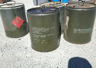 The highly volatile chemical was discovered at a waste facility in Lancaster and traced back to Fox Airfield. (Courtesy photo)