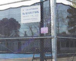 McAdam Park pool small