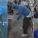 Palmdale liquor store robberies attempt to ID