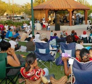 Free music in the park