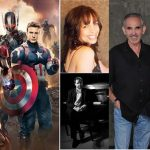 Avengers: Age of Ultron movie poster Gina Eckstine, The Herbie Kae & Tony Capko Band, and The Bill Fulton Band (bloack and white image).