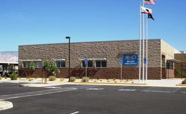 The California Highway Patrol's Mojave office is located at 1313 State Highway 58. [contributed]