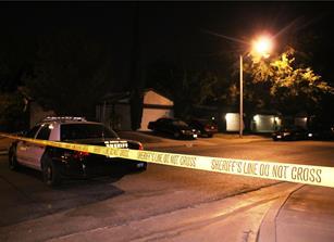 The shooting was around 11 p.m. Monday, Aug. 22. [LUIS MEZA]