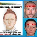 Kimberly Harvill shown in a drawing authorities released in hopes of identifying her after her body was found. Suspects Joshua Robertson and Brittany Humphrey were arrested Thursday, Aug. 25, in Pueblo, Colorado.
