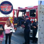 Palmdale's National Night Out event will feature several public safety displays, a rock climbing wall and more. [contributed images]