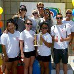 Palmdale novice swim team