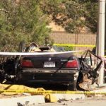 The driver of the vehicle that struck him was taken to a hospital for treatment of moderate injuries. [LUIS MEZA]