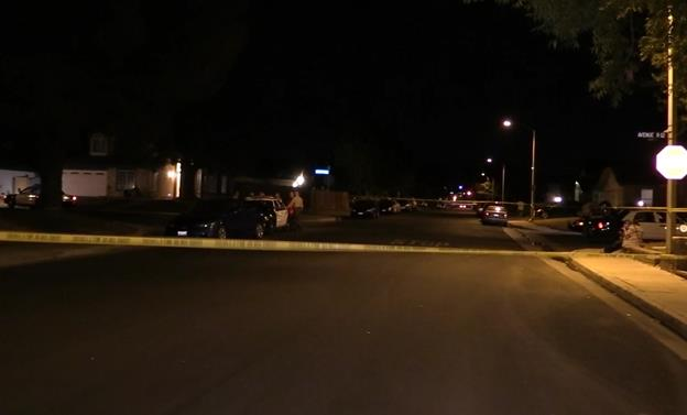 Sheriff's deputies were called to the 3600 block of East Avenue R-12 at 7:53 p.m. Saturday. [Photo by LUIS MEZA]