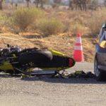 The motorcyclist was pronounced dead the hospital. [JOHN MEZA]