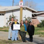 Neighborhood Watch is the easiest way to learn about crime trends, disaster preparedness, home security and personal safety issues, according to city officials. [Contributed image of a Palmdale Neighborhood Watch group.]