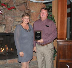 [L to R] Palmdale's CIP Manager Lynn Glidden and Sr. Maintenance Specialist Sean O'Brien. [ Contributed]