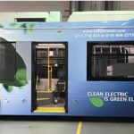 BYD delivers electric bus to LADOT