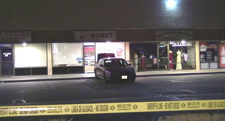 Employee fatally shoots burglary suspect at Lancaster donut shop