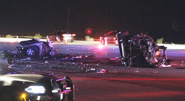 Car Accident On  East San Diego