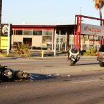 Motorcyclist killed in rear-end crash