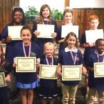 Local students earn National Memory Master Homeschool Awards