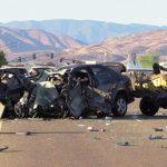 Teen killed in head-on crash in Palmdale