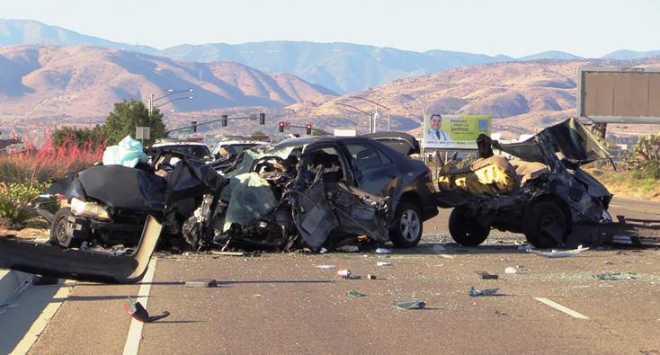 Car Crash In Antelope Ca