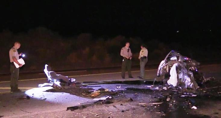 Driver killed in Palmdale traffic crash