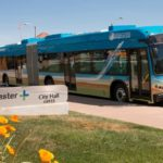 AVTA's 60-ft articulated electric bus now in service