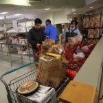 SAVES distributes 300 Thanksgiving baskets