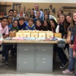 Local students build boxes for children suffering illnesses