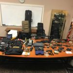 Guns, rifles, body armor seized in Palmdale raid, felon arrested
