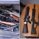 Fake guns seized in Castaic, 2 arrested