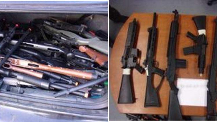 Fake guns seized in Castaic, 2 arrested