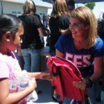 Eastside students receive backpacks filled with school supplies