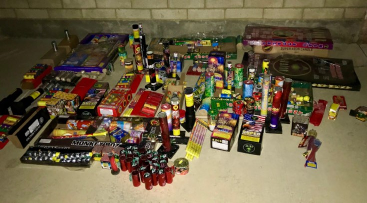 Several citations issued for illegal fireworks
