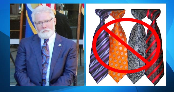 Lancaster mayor says neckties should not be required for city employees
