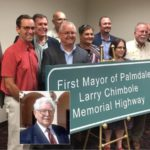 Portion of Hwy 138 / Palmdale Boulevard named in honor of Larry Chimbole