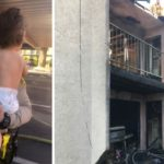 Lancaster deputies rescue baby, father from burning building