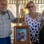 Gazebo dedicated to former hospital employee