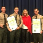 Lancaster deputies honored for saving baby, father from burning building