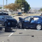 Woman dies after three-vehicle crash in Lancaster