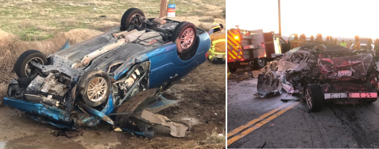 One dead, five injured in multi-vehicle crash near Lancaster [UPDATED]