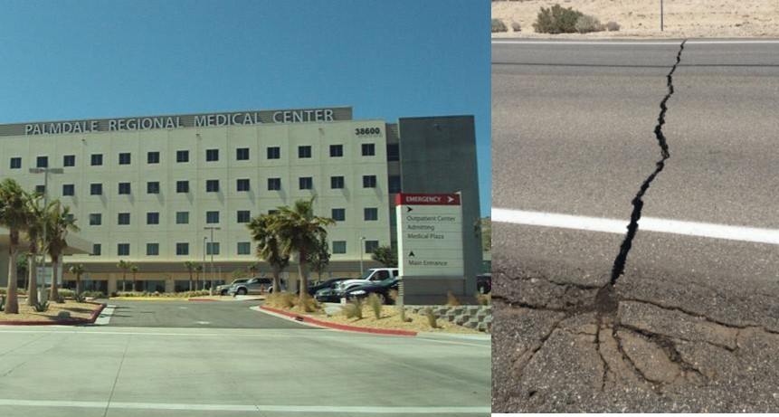 ER patients transferred to Palmdale Regional Medical Center